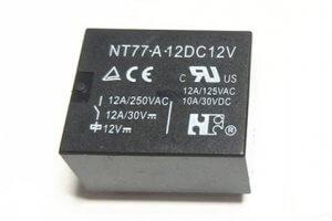 NT77 relay-5A 10A 12A-A-12V 300
