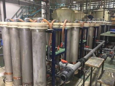 旋流电解提取金属案例