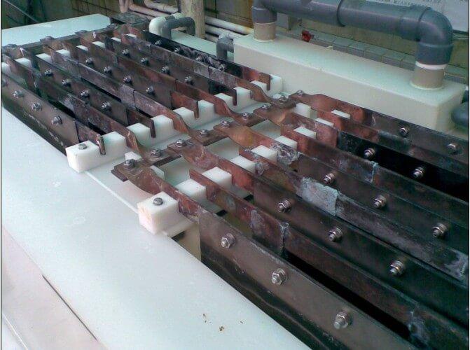 电解铜回收用钛阳极
