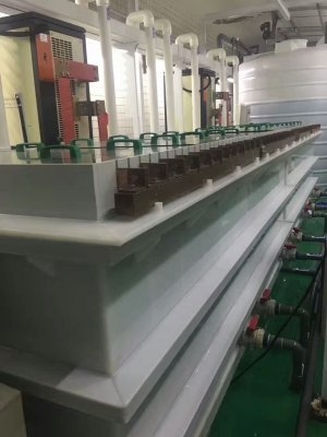 Case of Titanium anode for Extraction of metal by electrolysis