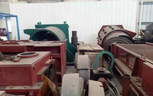 side loop before steel rolling mill