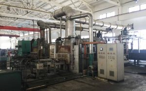 2-hi steel rolling mill