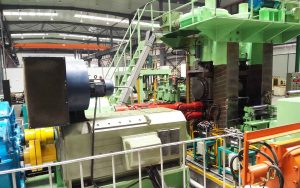 4-hi strip steel rolling mill