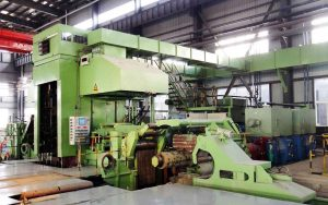 6-hi steel rolling mill