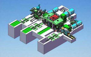 8-Hi jalur keluli Rolling kilang