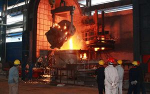 electric arc furnace for rebar mill