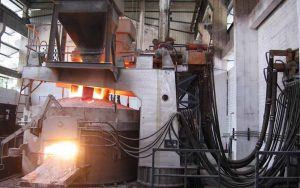ladle refining furnace for rebar mill machine