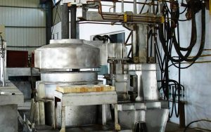 ladle refining furnace for rebar rolling mill