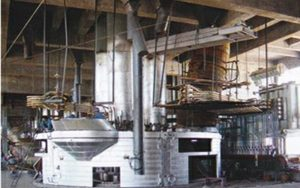 submerged electric arc furnace for steel rolling mill equipment
