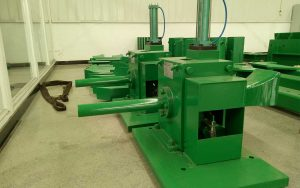 rolling mill gripping shearing machine