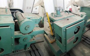 rebar Rolling kilang Mencincang peralatan mekanikal ricih