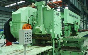 rebar rolling mill cold shear machine