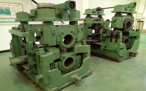 steel roughing rolling mill stand