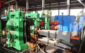 mini re-bar steel rolling mill