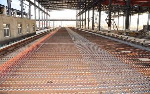 tmt rebar rolling mill cooling bed