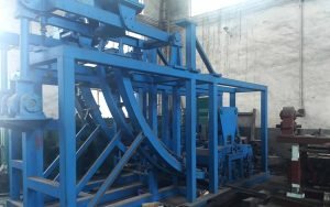 vertical continuous casting machine
