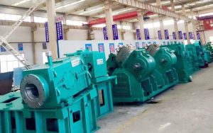 wire rod rolling mill unit