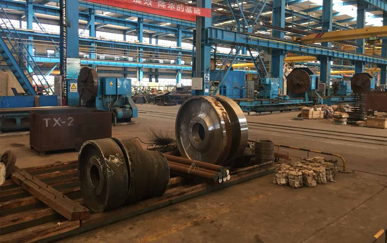 steel rolling mill factory