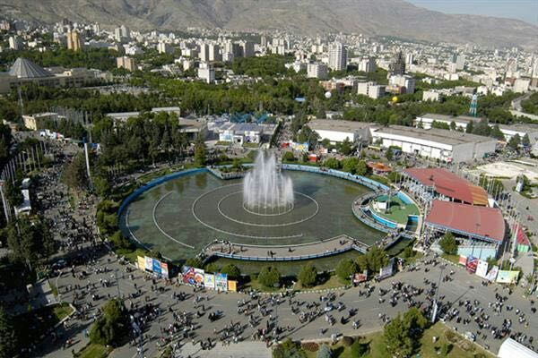 Pameran kilang Rolling di Iran Tehran