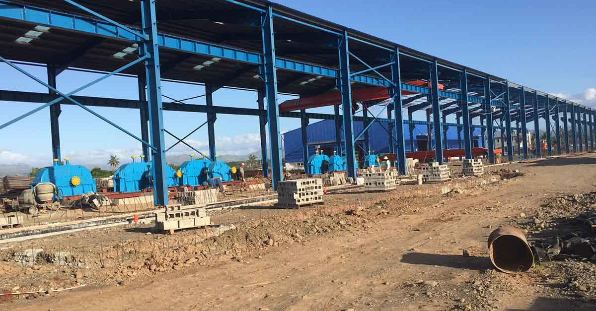 tmt rolling mill turnkey project