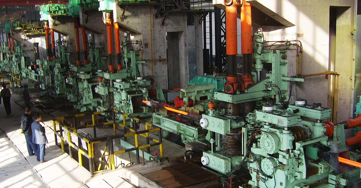 hot-rolling-mill-machine