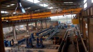 rebar rolling mill install