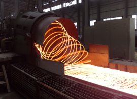 running wire rod mill laying head