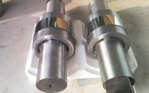 Tungsten carbide roller