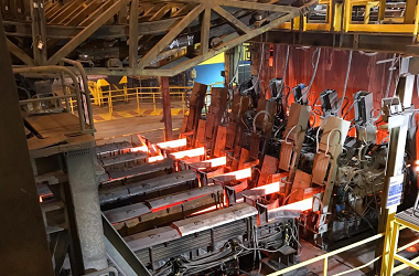 horizontal continuous casting mill