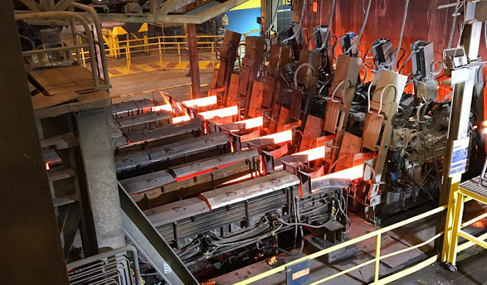 horizontal continuous casting
