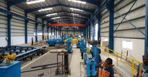 TMT rebar rolling mill project