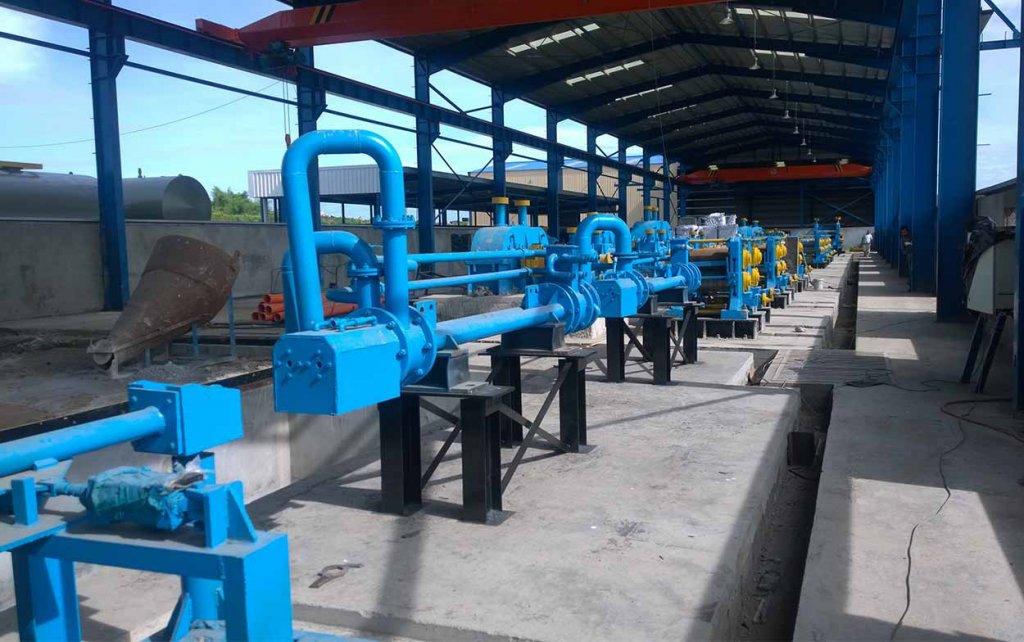 rolling steel equipment
