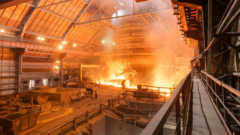 electric arc furnace steelmaking