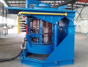 intermediate frequency coreless induction melting furnace