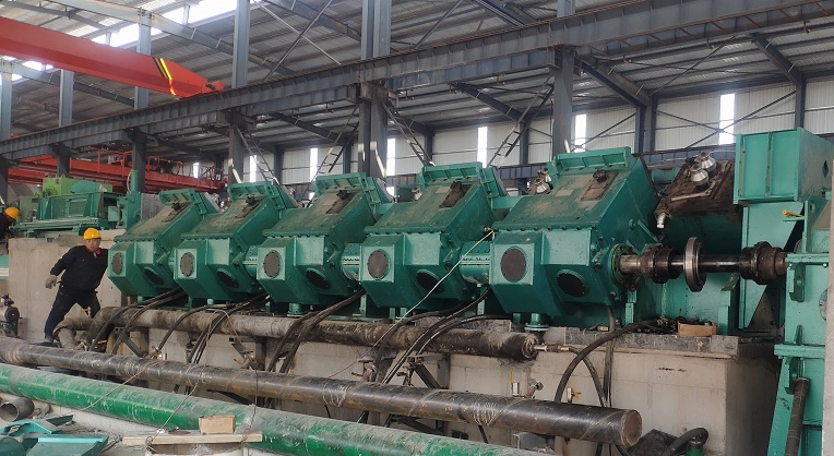 Finishing rolling mill